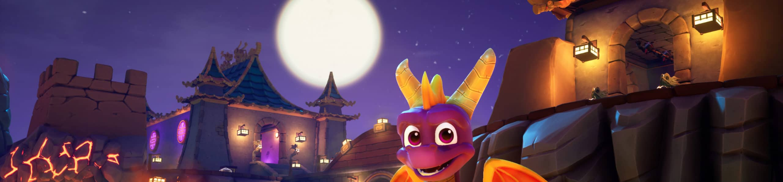 CLASSIC GAMES: SPYRO™ REIGNITED TRILOGY FEATURES REMASTERED ENVIRONMENTS BY VIRTUOS