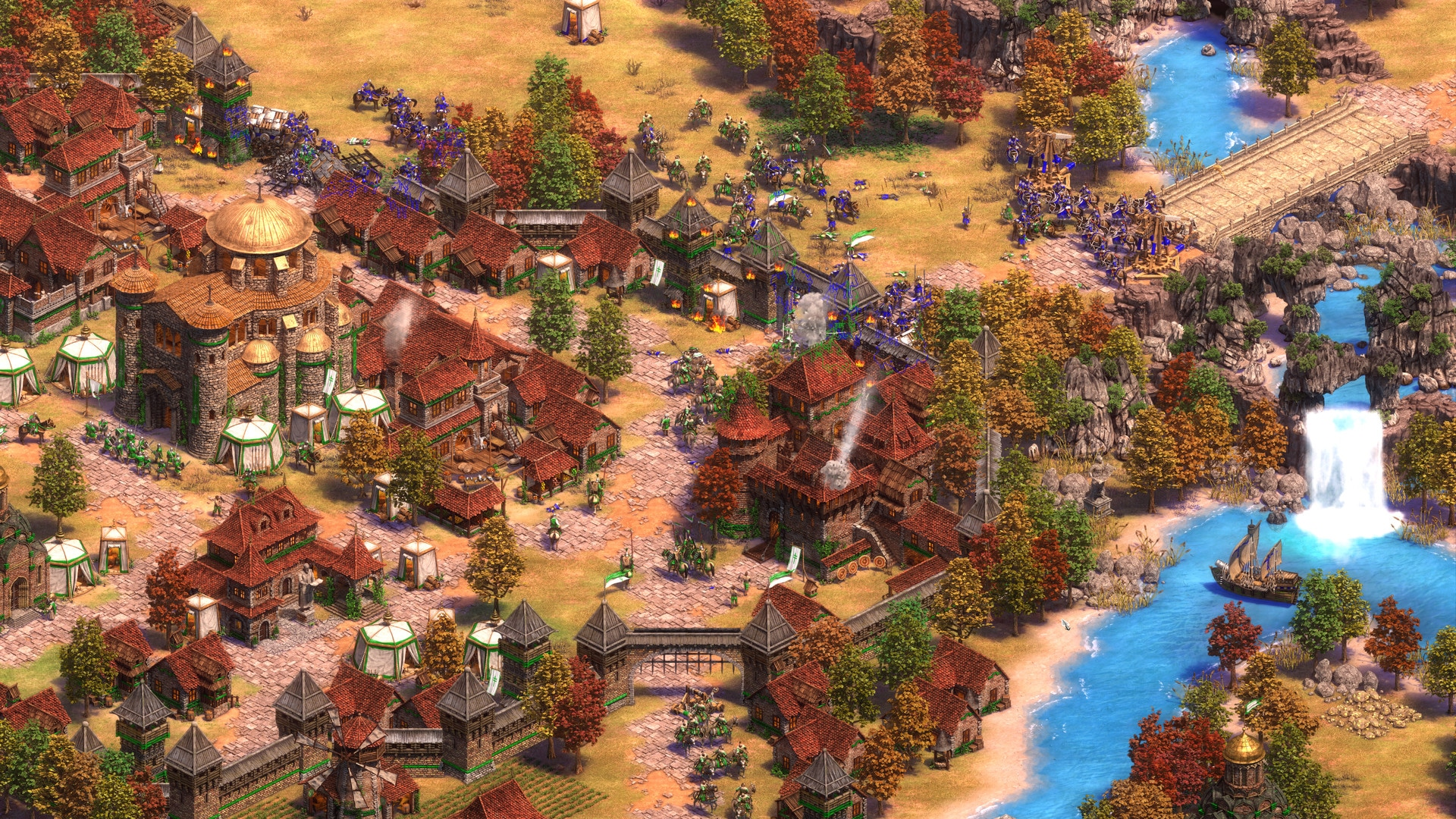 VIRTUOS-SPARX* PRODUCED ABUNDANT FX AND ART ASSETS FOR AGE OF EMPIRES II: DEFINITIVE EDITION