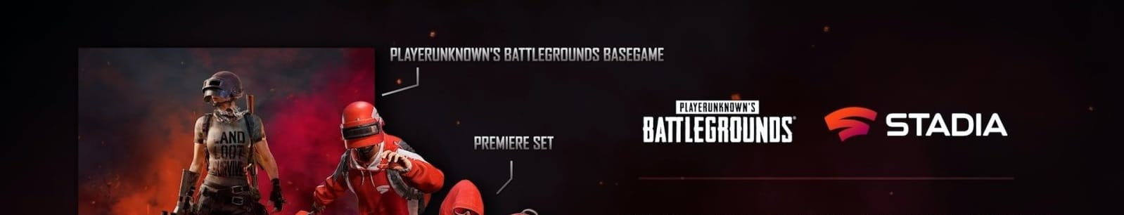 VIRTUOS' FIRST FORAY INTO PLATFORM: PUBG FOR STADIA NOW AVAILABLE