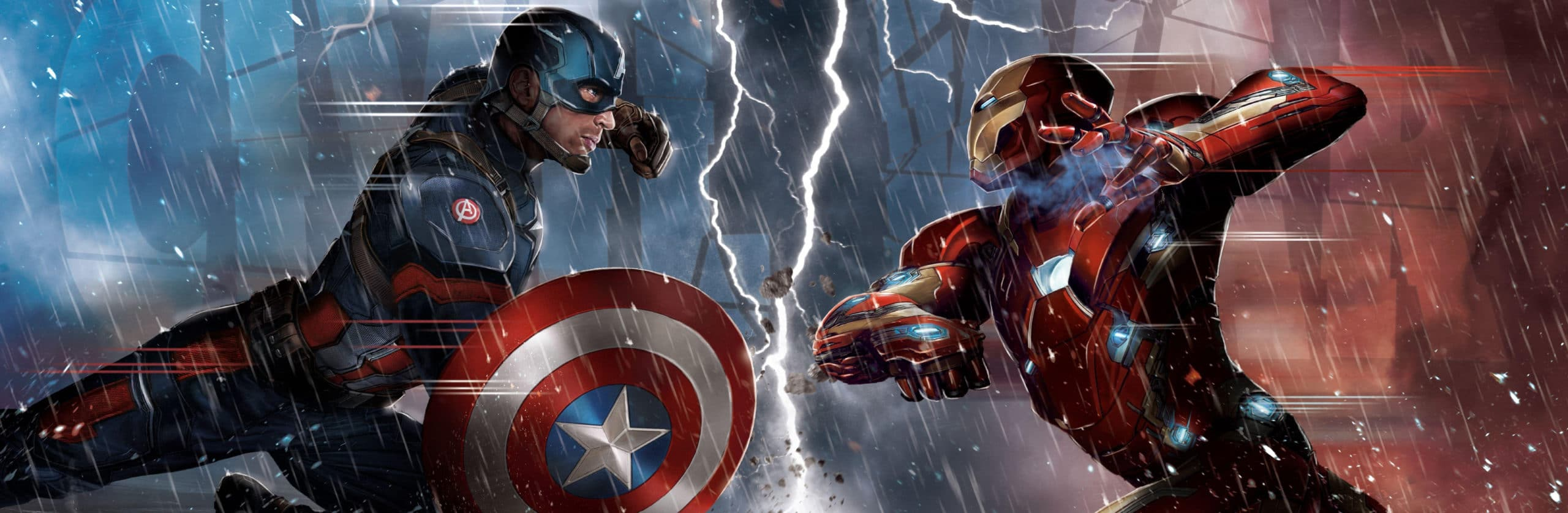 CAPTAIN AMERICA: CIVIL WAR RELEASES IN THEATERS WITH 3D ART FROM VIRTUOS