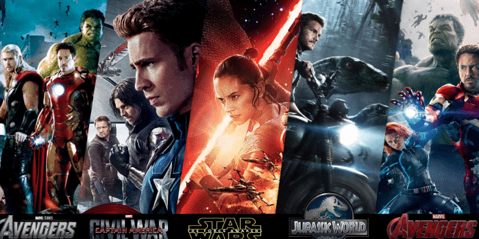 VIRTUOS CONTRIBUTED TO 5 OF THE TOP 5 HIGHEST GROSSING OPENING WEEKEND FILMS OF ALL TIME