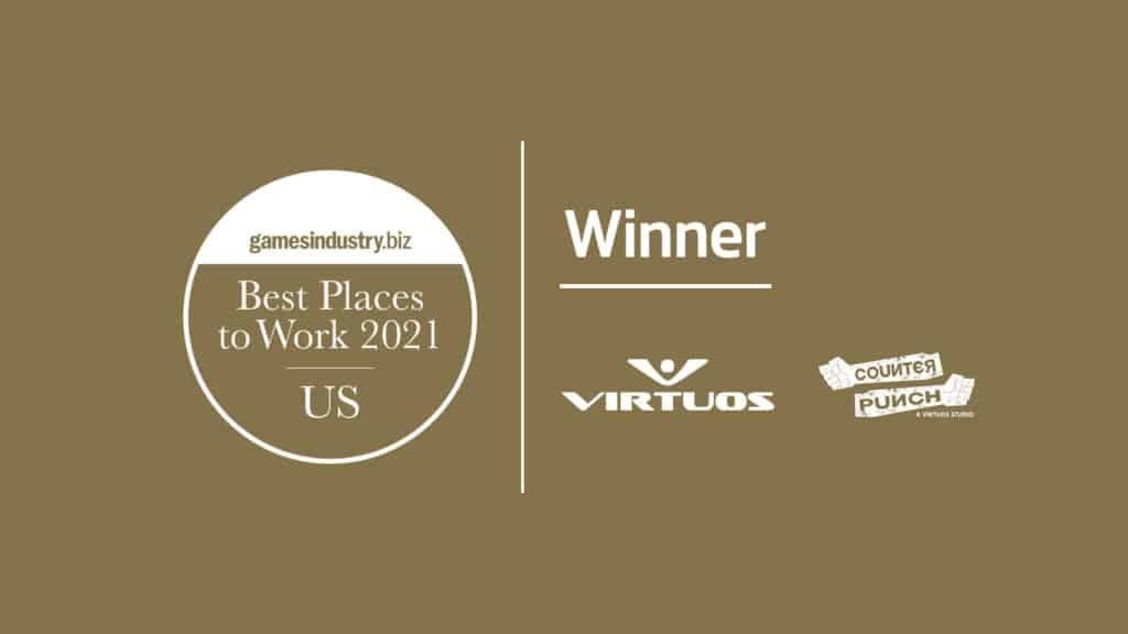 GamesIndustry.biz US Best Places To Work_Virtuos_CounterPunch