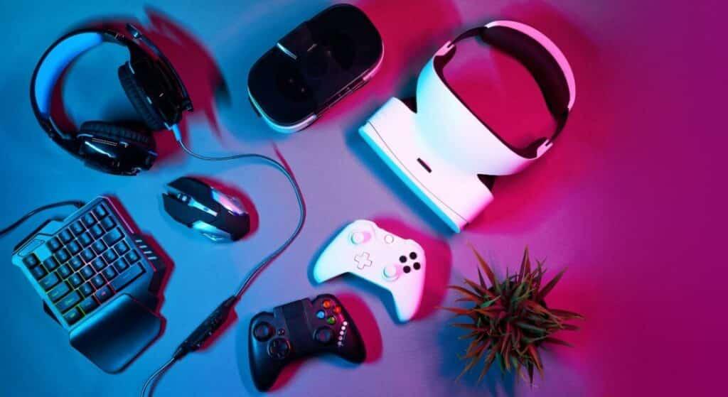 photo of gaming gadgets